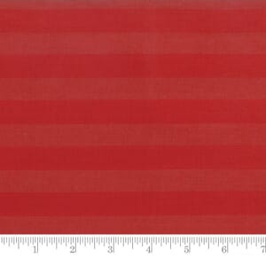 Moda Fabric Snowfall Wovens Large Stripe Poinsettia Red