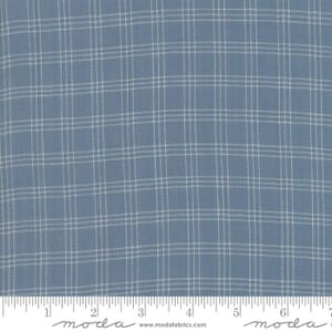 Moda Fabric Northport Silky Woven Check Natural Red