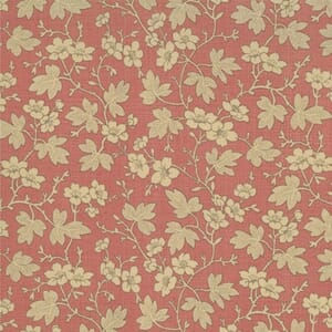 Moda Fabric French General Favourites Cornouille Faded Red