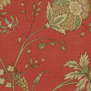 Moda Fabric French General Favourites Floral Red
