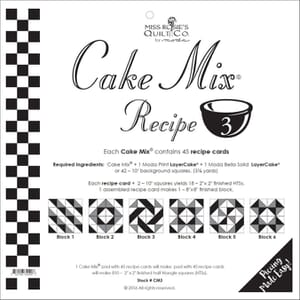 Small Image of Cake Mix Recipe 3 By Miss Rosies Quilt Co