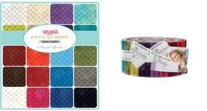 Small Image of Moda Fabric Grunge Hits The Spot Jelly Roll