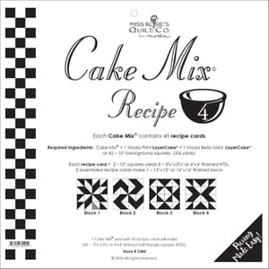 Small Image of Cake Mix Recipe 4 By Miss Rosies Quilt Co