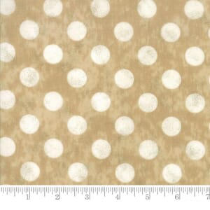 Moda Fabric Maven Large Dots Kraft