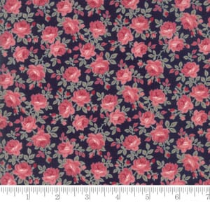 Small Image of Moda Fabric Sweet Blend Secret Garden Blueberry