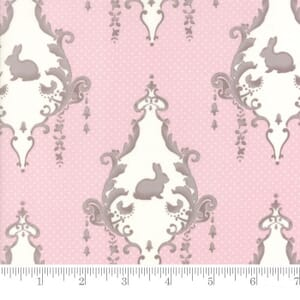 Small Image of Moda Fabric Lily Will Revisited Lily Will Pink