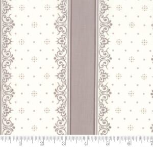 Small Image of Moda Fabric Lily Will Revisited Nighty Night Stripe Grey