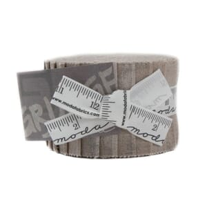 Small Image of Moda Fabric Grunge Junior Jelly Roll  Gris