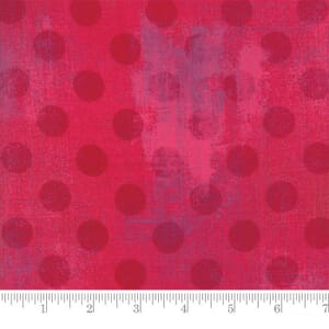 Small Image of Moda Fabric Grunge Hits The Spot Raspberry