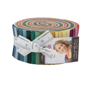 Small Image of Moda Fabric Grunge Hits The Spot New Jelly Roll