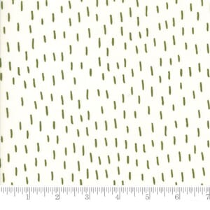 Small Image of Moda Fabric Merrily Just A Dash Holly Snow