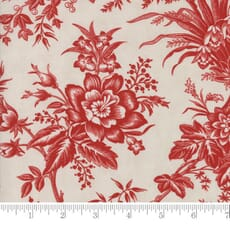 Small Image of Moda Fabric Snowberry Prints Toile Snow Berry