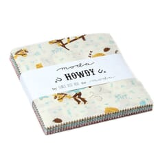 Small Image of Moda Fabric Howdy Charm Pack
