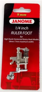 Janome ¼ Inch Ruler Foot Category C and D
