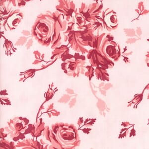 Small Image of Moda Fabric Howdy Country Garden Pink