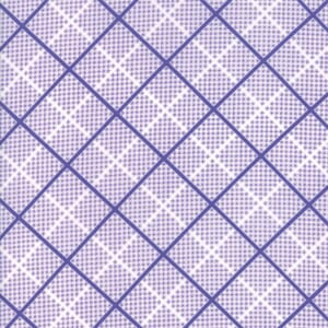 Small Image of Moda Fabric Frolic Plaid Playful Purple