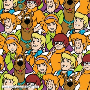 Visage Scooby And The Gang Fabric