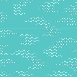 Lily Pad Water Ripple Quilting Fabric