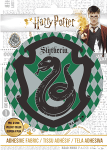 Harry Potter Slytherin Logo Motif Adhesive Patch
