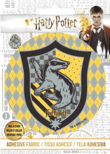 Harry Potter Hufflepuff Logo Motif Adhesive Patch