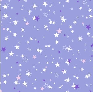 Out Of This World Stars Purple