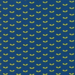 Small Image of Moda Fabric Lucky Day Sprouts Dusk Blue