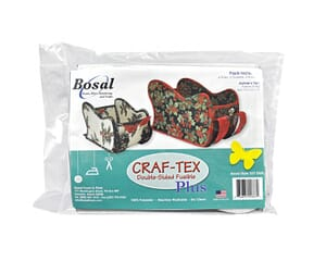 Bosal Double Sided Fusible Wadding/Interfacing for Aunties Two Sleigh Pattern