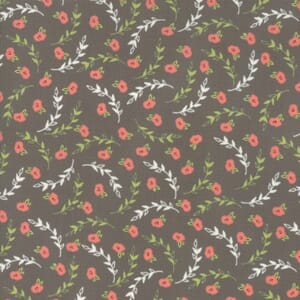 Small Image of Moda Fabric Creekside Posies Stone