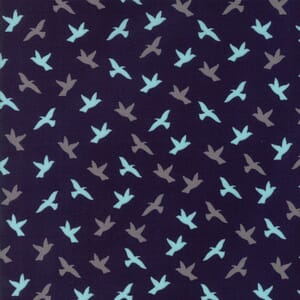 Small Image of Moda Fabric Creekside Soar Midnight