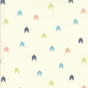 Small Image of Moda Fabric Creekside Compass Ivory