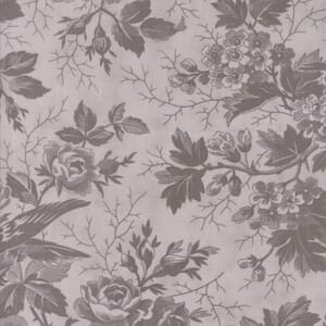 Moda Fabric Quill Bird Toile Tonal Feather