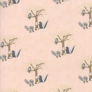 Small Image of Moda Fabric Hushabye Hollow Skunk Sweet Cheeks
