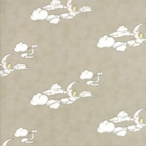 Small Image of Moda Fabric Hushabye Hollow Moon Moonbeam