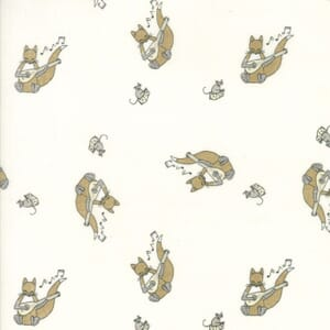 Small Image of Moda Fabric Hushabye Hollow Fox Lute Cloud