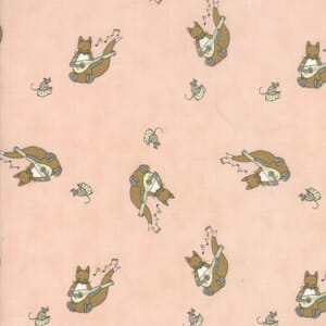 Small Image of Moda Fabric Hushabye Hollow Fox Lute Sweet Cheeks