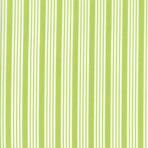 Small Image of Moda Fabric The Good Life Stripe Green