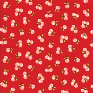 Small Image of Moda Fabric The Good Life Orchard Red