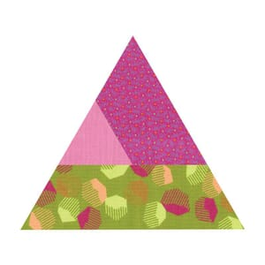 Small Image of Sizzix Bigz L Die - Varied Triangle