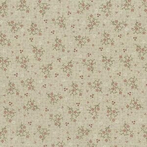 Lynette Anderson One Stitch At A Time Floral Sprigs Natural