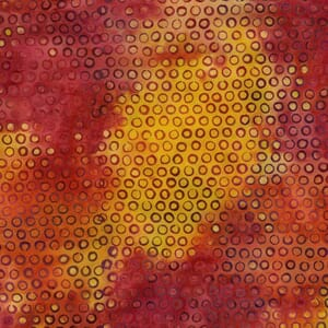 Small Image of Makower Fabric Island Batiks 795 Orange