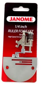 Janome ¼ Inch Ruler Foot - HD9/1600p