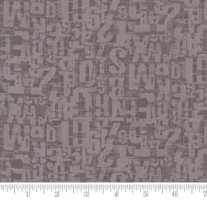 Small Image of Moda Fabrics Compositions Number Jumble Stone