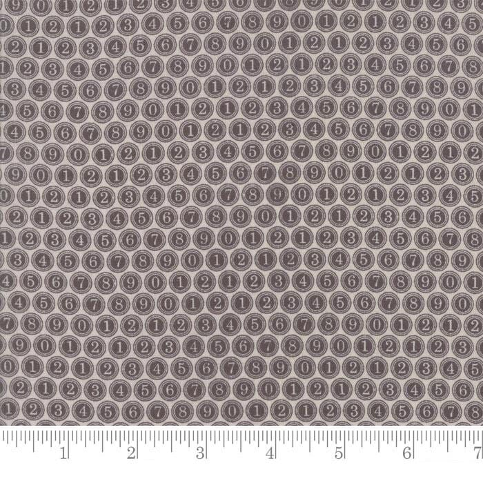 Moda Fabric Compositions Type Keys Taupe