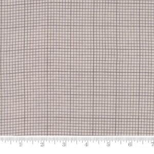 Small Image of Moda Fabrics Compositions Grid Taupe