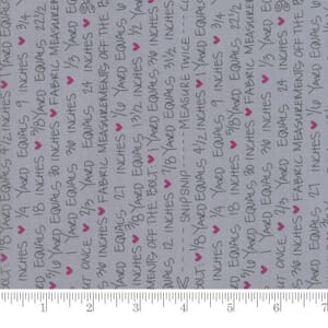 Small Image of Moda Fabrics Spectrum Notes Grey Scale