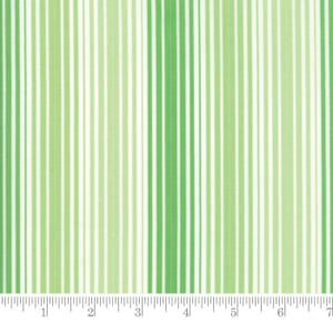 Moda Fabric Rainy Day Its Pouring Stripe Buckets Of Green