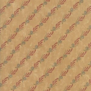 Small Image of Moda Fabric Thistle Farm Stripe Sand