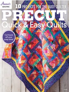 Precut Quick And Easy Quilts Book