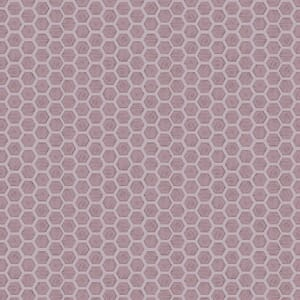 Lewis and Irene Queen Bee Honeycomb Lilac A501.3
