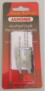 Janome AcuFeed 1/4 inch Seam Foot - Cat D (with Acufeed)